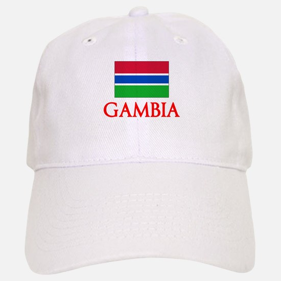 Gambia Flag Design Baseball Baseball Cap
