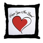 Know You Are Loved Throw Pillow
