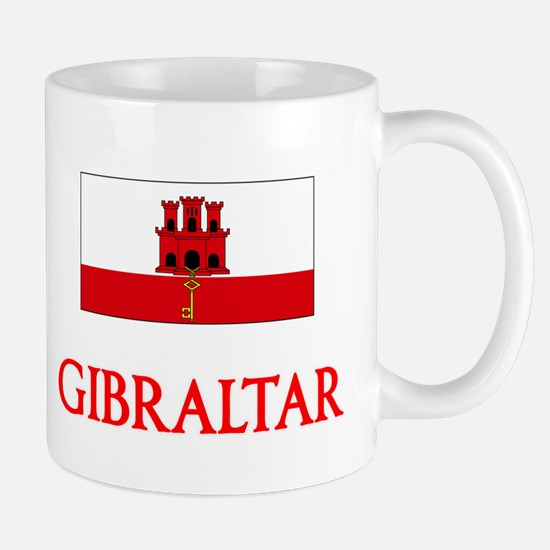 Gibraltar Flag Design Mugs