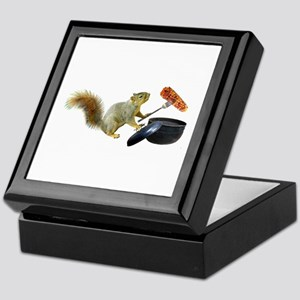 Squirrel BBQ Keepsake Box
