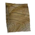 Natural Grain Burlap Throw Pillow