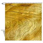 Golden Grain Shower Curtain