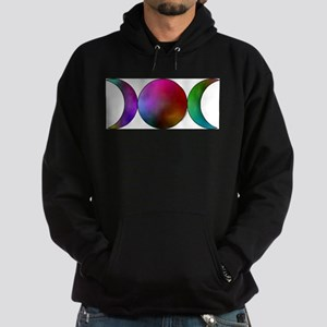 Triple Moon - Watercolor Sweatshirt