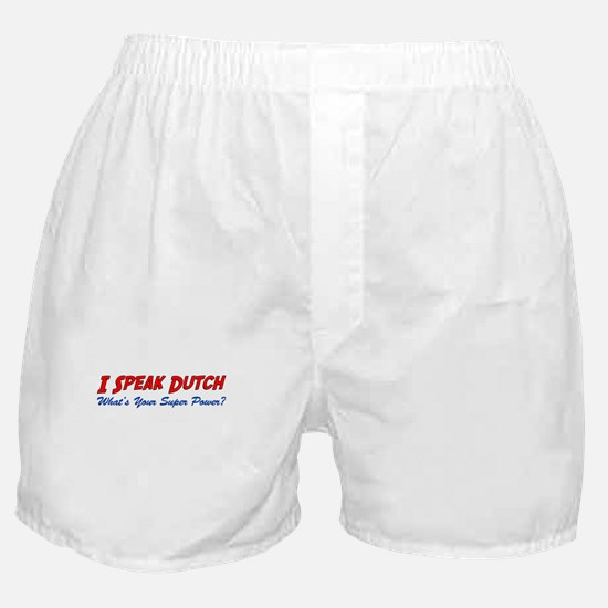 I Speak Dutch Boxer Shorts