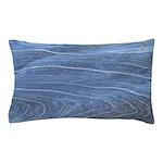 Blue Grain Pillow Case