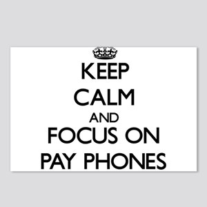 Keep Calm and focus on Pa Postcards (Package of 8)
