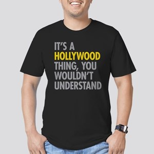Its A Hollywood Thing Men's Fitted T-Shirt (dark)