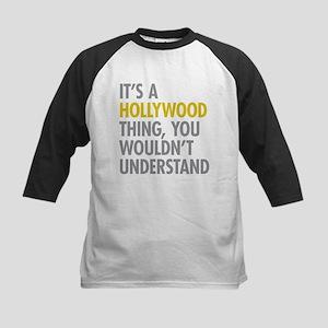 Its A Hollywood Thing Kids Baseball Jersey