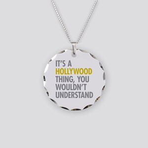 Its A Hollywood Thing Necklace Circle Charm