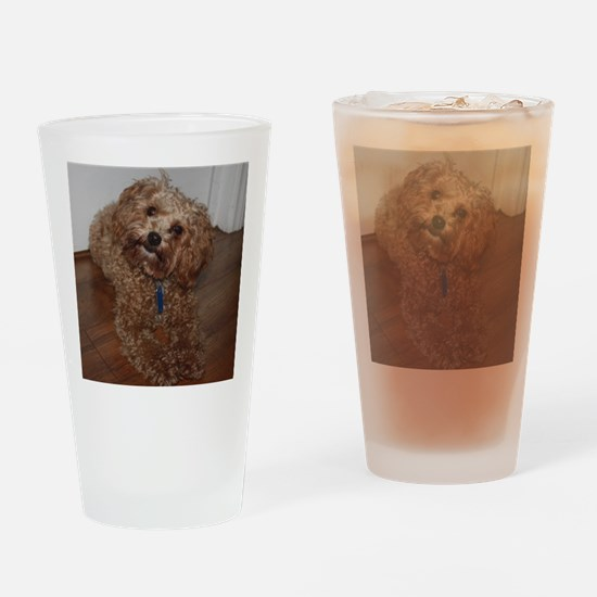 Schnoodle Drinking Glass