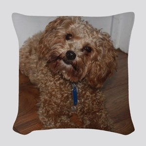 Schnoodle Woven Throw Pillow