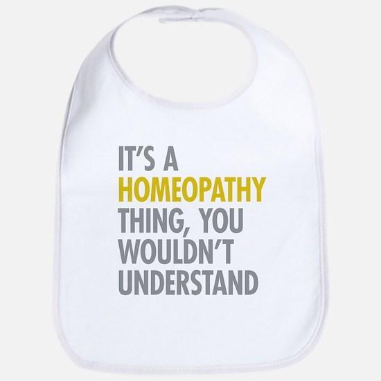 Its A Homeopathy Thing Bib