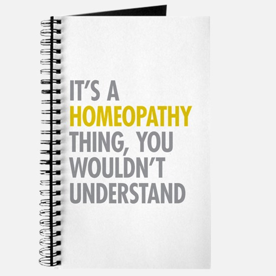 Its A Homeopathy Thing Journal