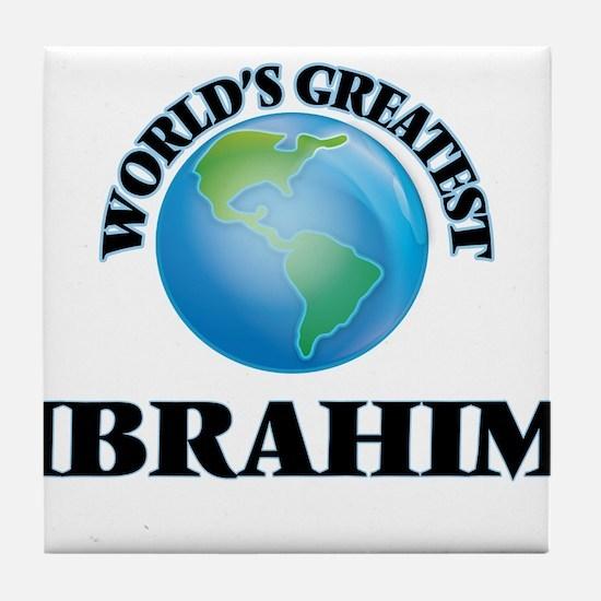 World's Greatest Ibrahim Tile Coaster