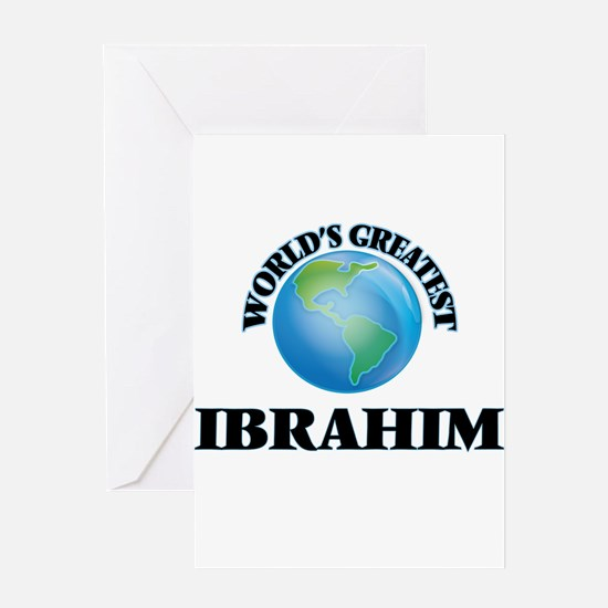 World's Greatest Ibrahim Greeting Cards