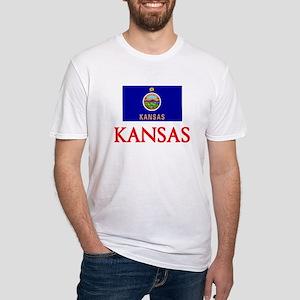 Kansas Flag Design T-Shirt