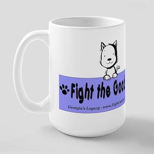 Fight Canine Cancer Large Mug