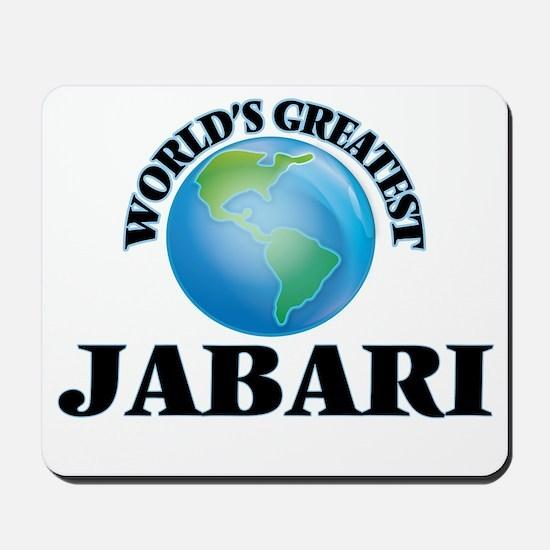 World's Greatest Jabari Mousepad