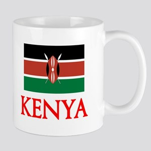 Kenya Flag Design Mugs
