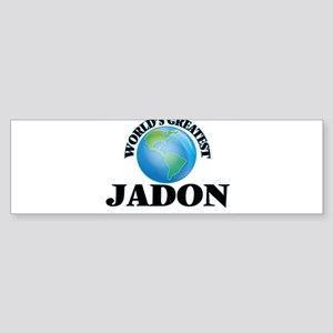 World's Greatest Jadon Bumper Sticker