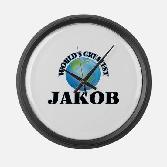 World's Greatest Jakob Large Wall Clock