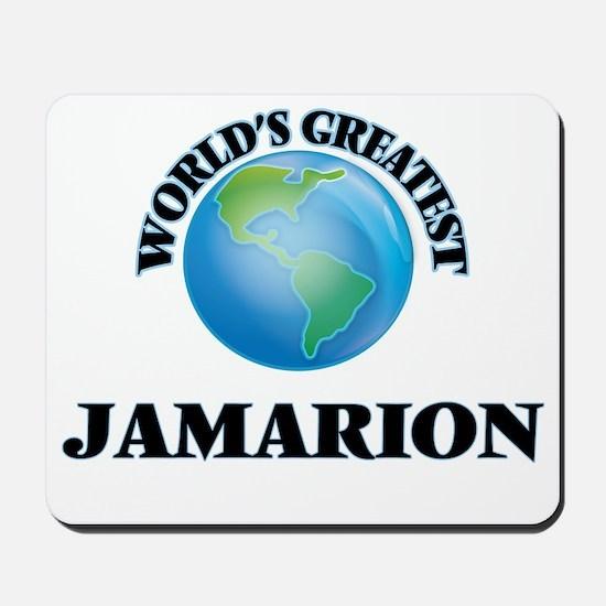 World's Greatest Jamarion Mousepad