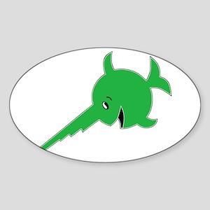 9th U-boat Flotilla_Laughing Sawfish Sticker
