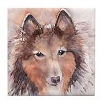 Shetland Sheepdog - Sheltie Tile Coaster