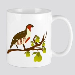 Partridge and Pear Tree Mugs