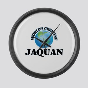 World's Greatest Jaquan Large Wall Clock