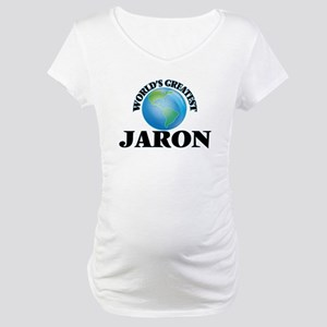 World's Greatest Jaron Maternity T-Shirt