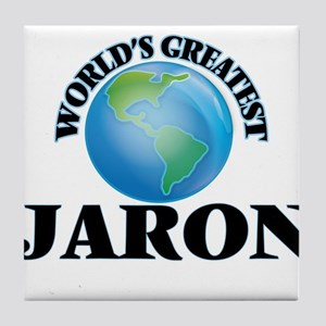World's Greatest Jaron Tile Coaster