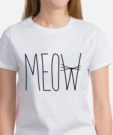 Meow cat whiskers T-Shirt