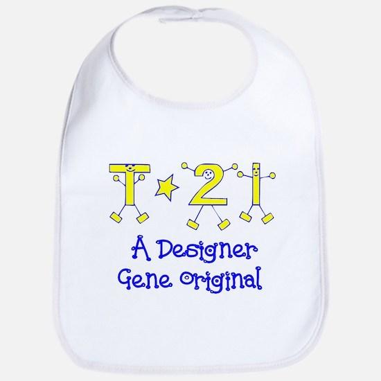 T21 Boy Medium Baby Bib