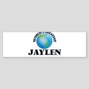 World's Greatest Jaylen Bumper Sticker