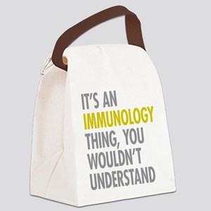 Its An Immunology Thing Canvas Lunch Bag