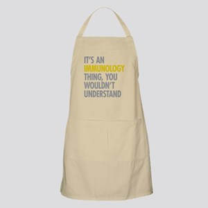 Its An Immunology Thing Apron