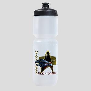 USS Voyager Sports Bottle