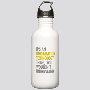 Its An Information Tec Stainless Water Bottle 1.0L
