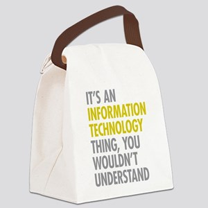 Its An Information Technology Thi Canvas Lunch Bag