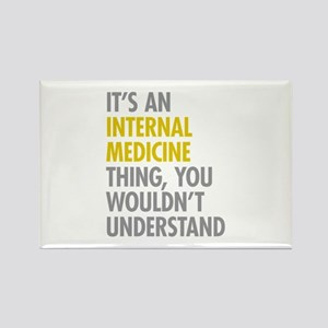 Internal Medicine Thing Rectangle Magnet