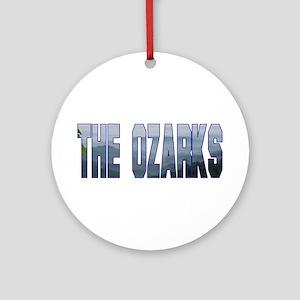 The Ozarks Ornament (Round)