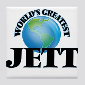 World's Greatest Jett Tile Coaster