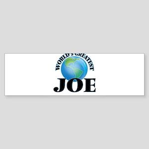 World's Greatest Joe Bumper Sticker