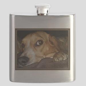 Beagle ~ One Love Flask