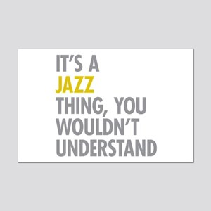 Its A Jazz Thing Mini Poster Print