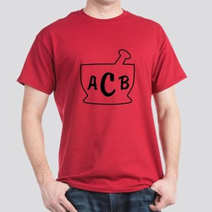 Personalized Mortar and Pestle Dark T-Shirt