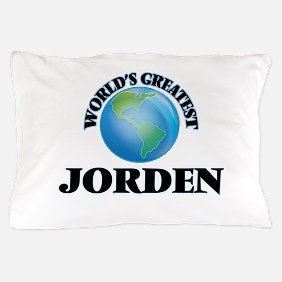 World's Greatest Jorden Pillow Case