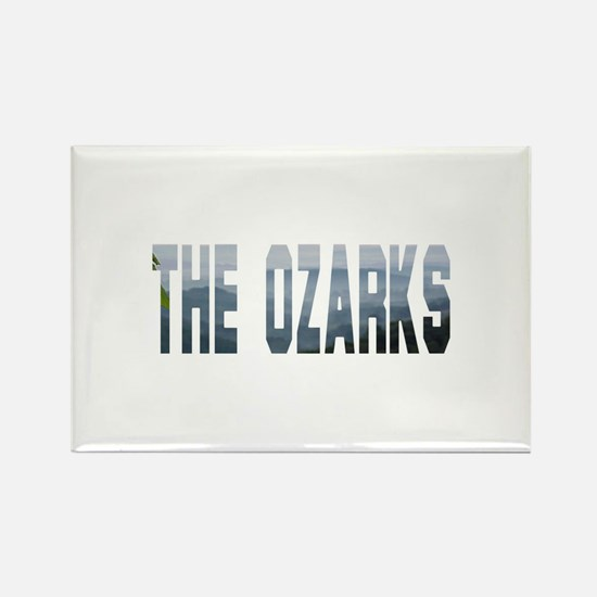 The Ozarks Rectangle Magnet