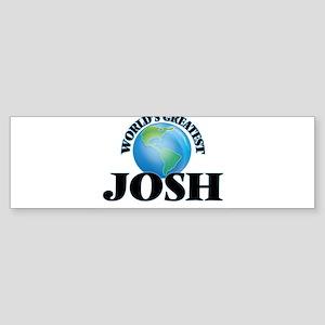 World's Greatest Josh Bumper Sticker